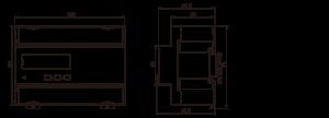 трифазен електромер